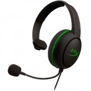 Headset HyperX Cloud Chat Xbox HX-HSCCHX-BK/WW Gamer - Preto