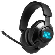 Headset JBL Gamer Quantum 400 RGB Drivers 50mm - Preto