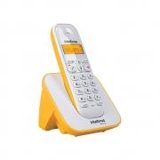 Telefone sem Fio Intelbras TS 3110 - Branco c/ Amarelo