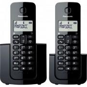 Telefone Sem Fio Panasonic KX-TGB112LBB Base + Ramal com ID