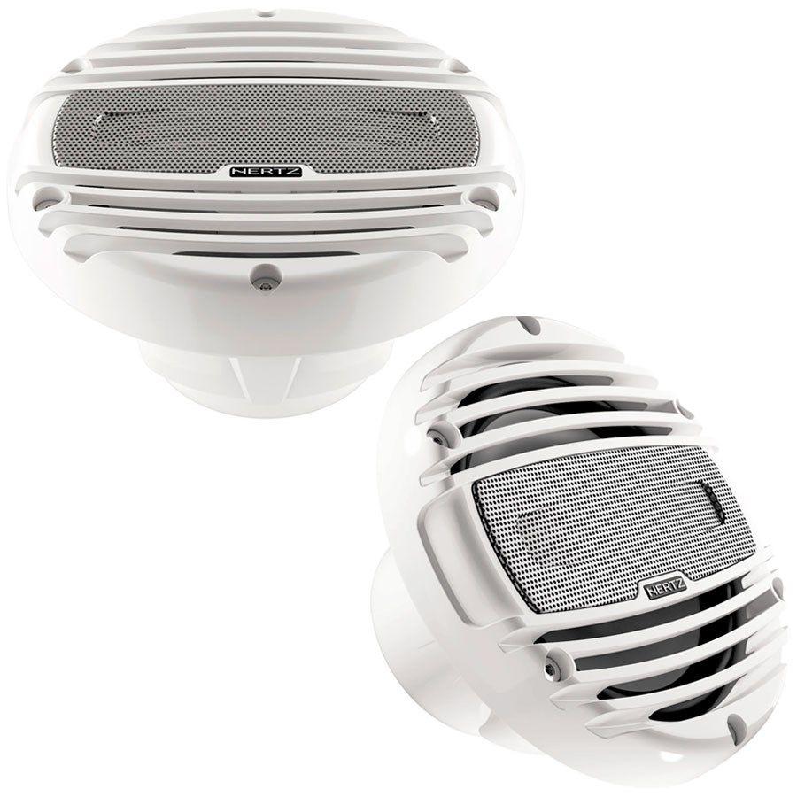 Alto-Falante Hertz HMX6.5 LD com LED (6 pols. / 150W RMS) - White