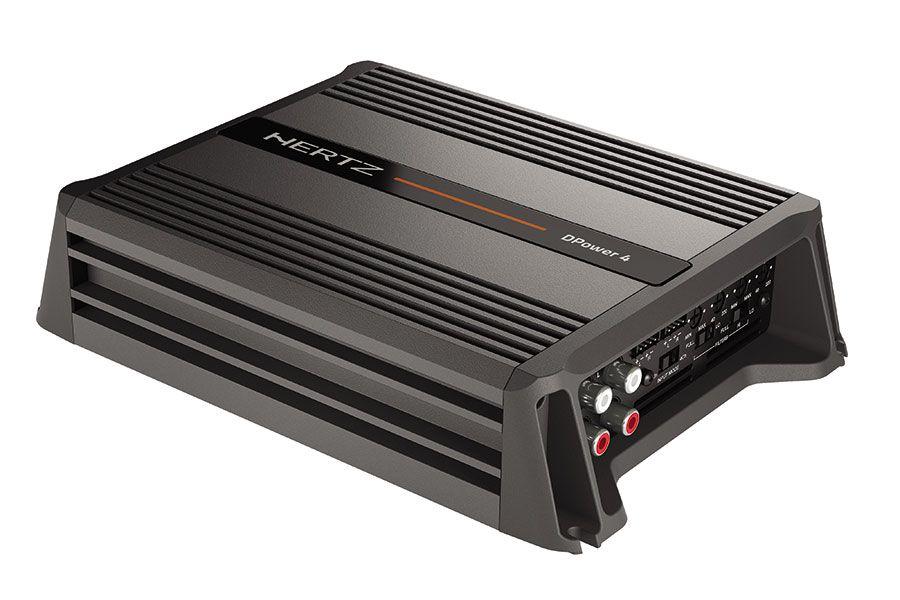 Amplificador Hertz DPower 4 (4x 75W / 2x 150W RMS)
