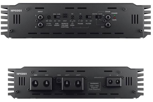Amplificador Hertz HP-6001 (1x 6000W RMS)