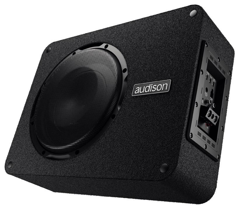 Caixa Amplificada Audison APBX 10 AS - 400W RMS