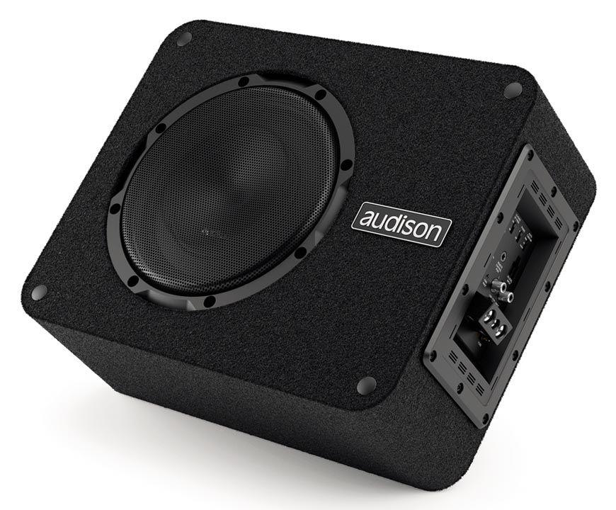 Caixa Amplificada Audison APBX 8 AS - 250W RMS