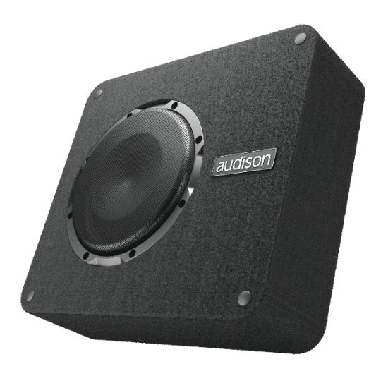 Caixa c/ Subwoofer Audison APBX 8 DS - 250W RMS