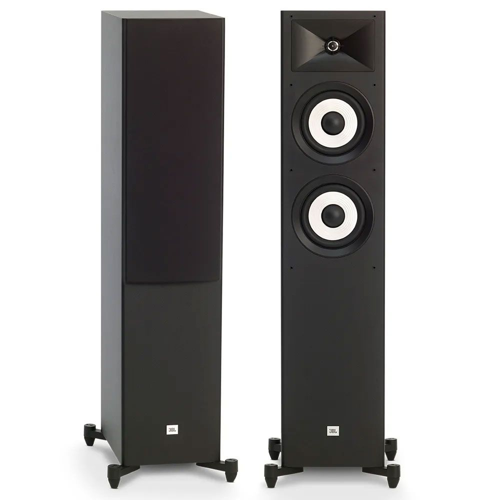 "Caixas Acústicas JBL Stage A180 Torre Dual 6,5"" 225Watts - Preto"