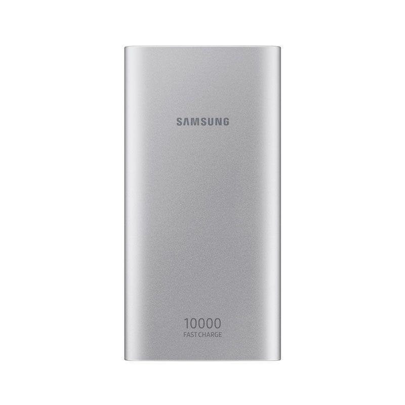 Carregador Portátil Samsung EB-P1100CSPGBR USB Tipo C, 10.000 mAh - Prata