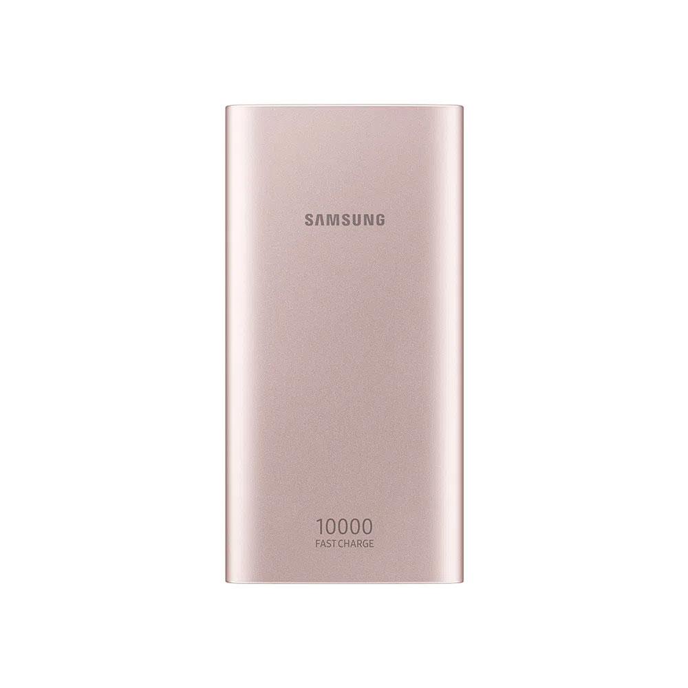 Carregador Portátil Samsung EB-P1100CPPGBR USB Tipo C, 10.000 mAh - Rosa