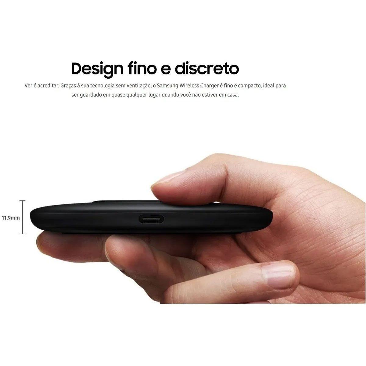 Carregador sem Fio Samsung Pad - Slim