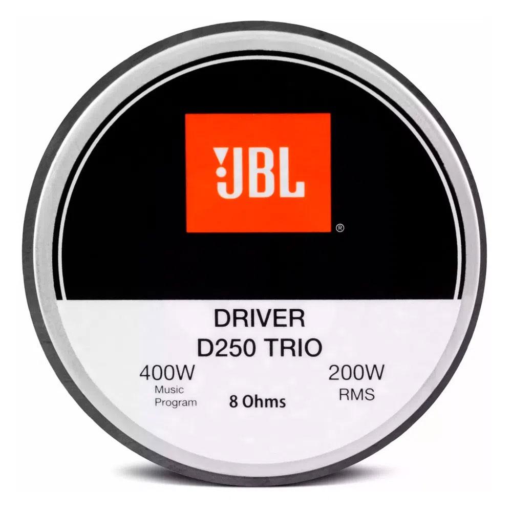 Driver JBL D250 Trio 200W Rms 8 Ohms - Unitário