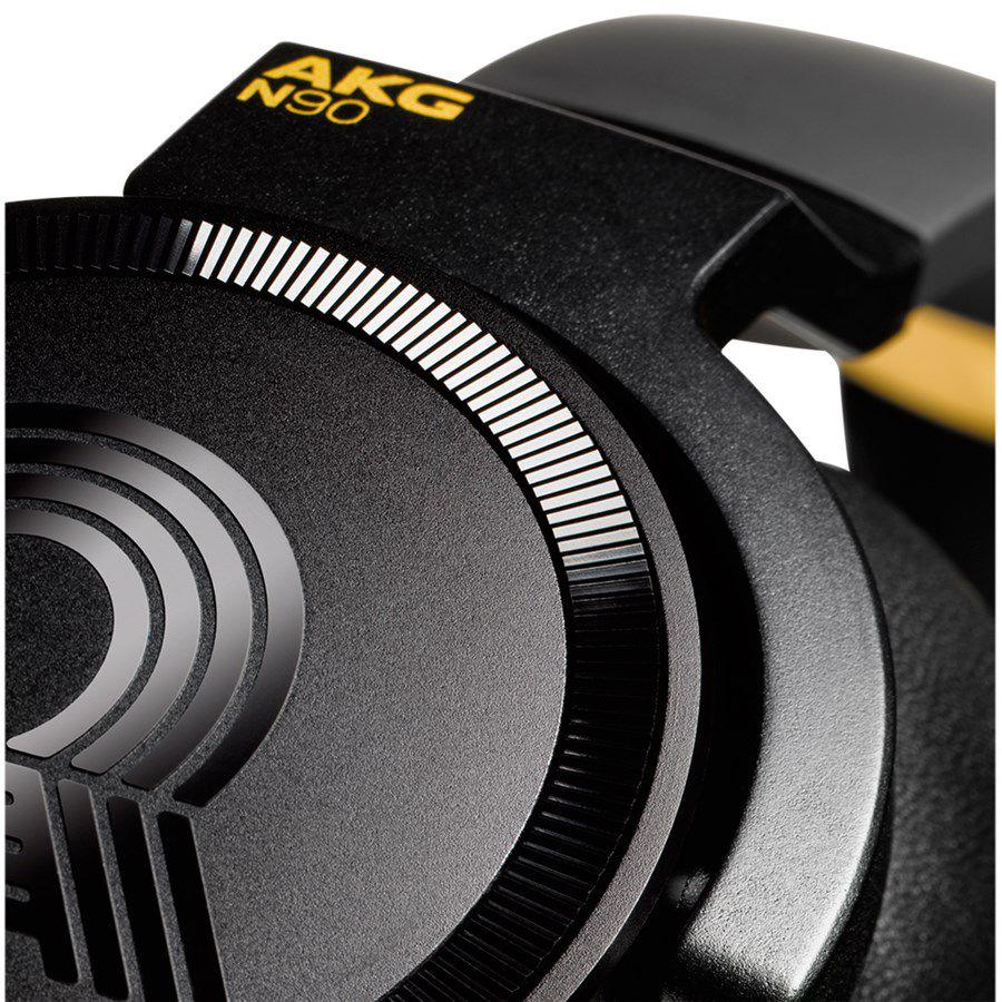 Fone de Ouvido AKG N90Q - Cancelamento de Ruído - Preto