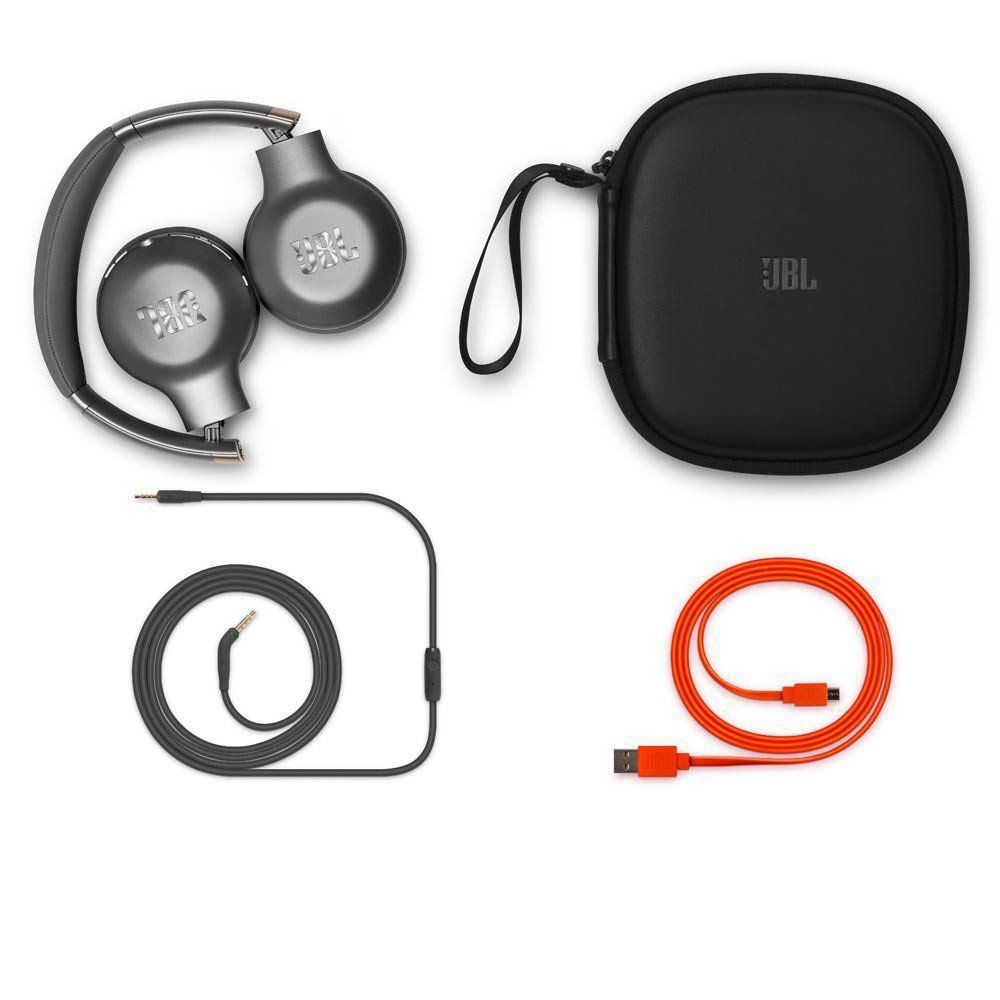 Fone de Ouvido JBL Everest V310BT - Cancelamento de Eco Bluetooth - Space Grey