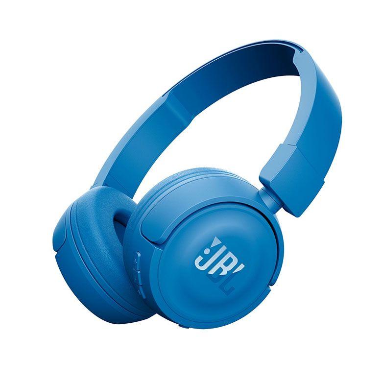 Fone de Ouvido JBL T450BT Pure Bass com Bluetooth - Azul
