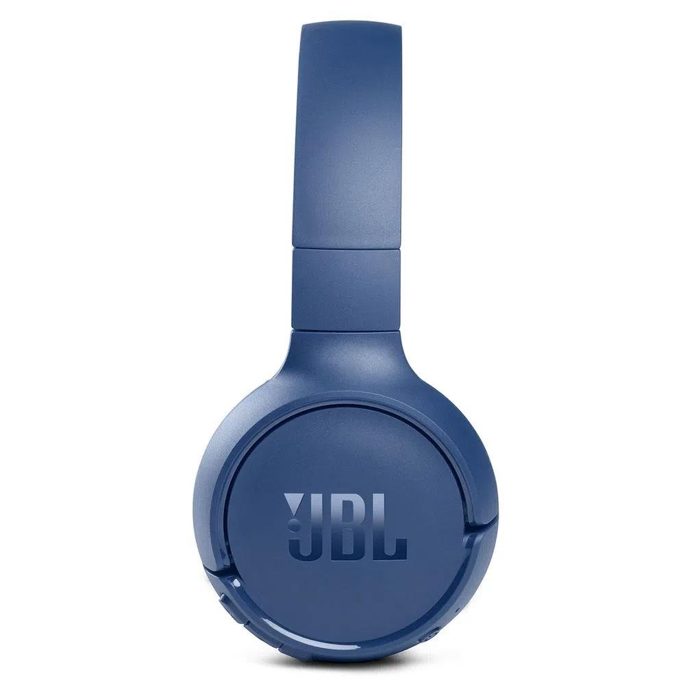 Fone de Ouvido JBL Tune 510BT Bluetooth Pure Bass 40h Bateria - Azul