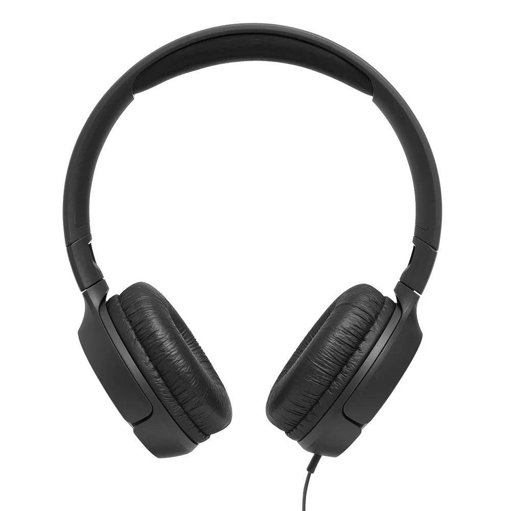 Fone de Ouvido JBL Tune T500 - Pure Bass com fio - Preto