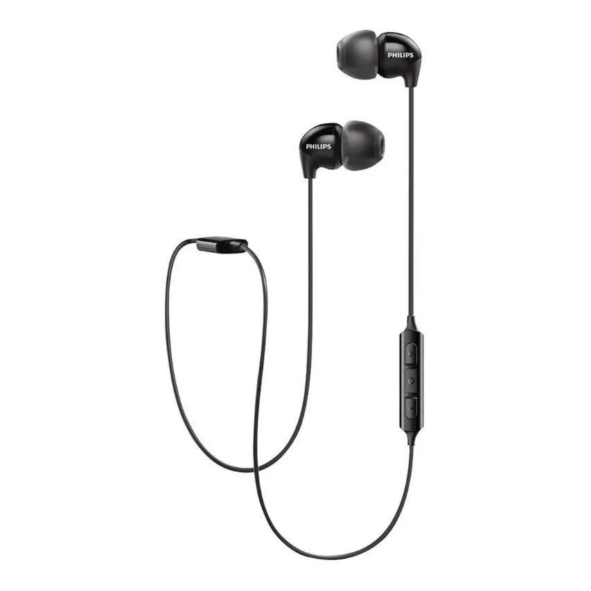 Fone de Ouvido Philips SHB3595BK Bluetooth com Microfone - Preto