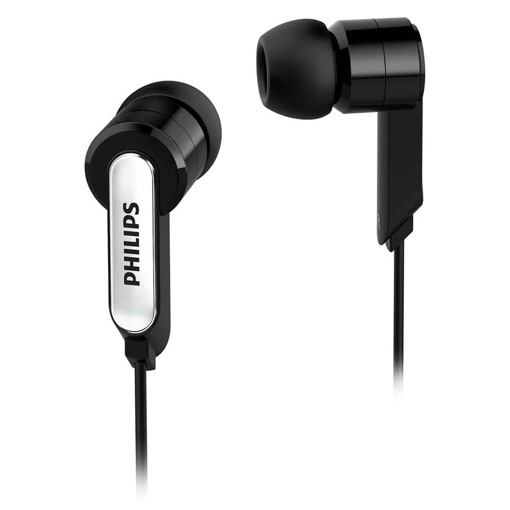 Fone de Ouvido Philips SHE1405BK/10 Intra Auricular com Microfone - Preto