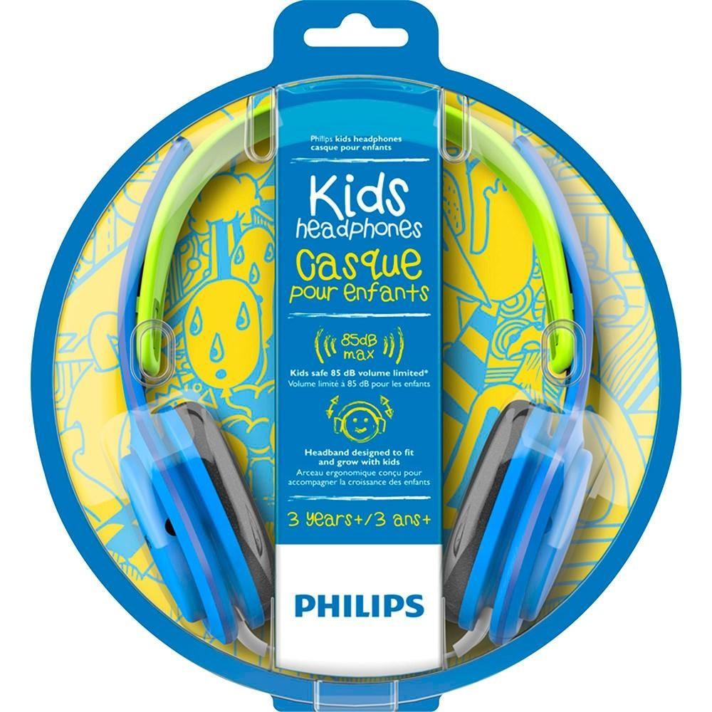 Fone de Ouvido Philips SHK2000BL/00 Kids - Azul