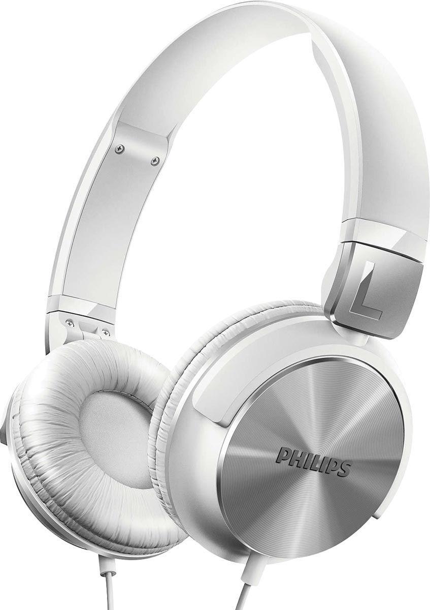 Fone de Ouvido Philips SHL3060 Headphone P2 - Branco