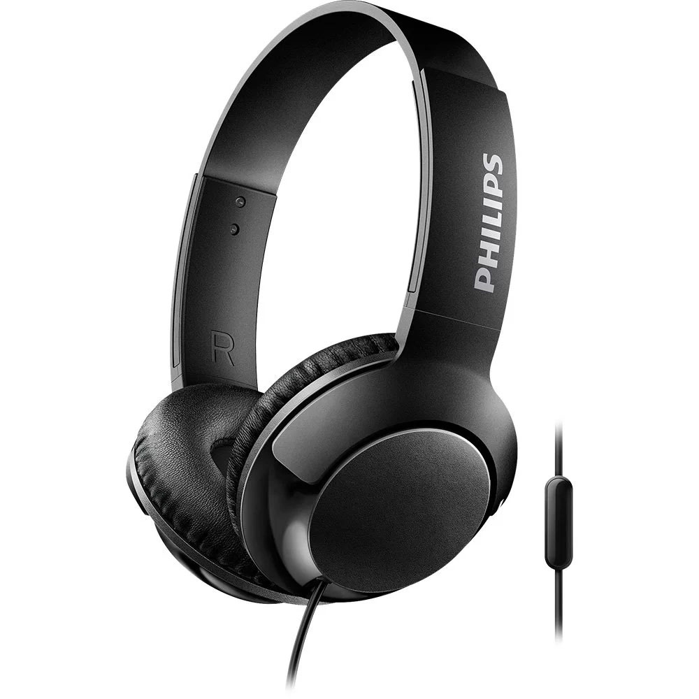 Fone de Ouvido Philips SHL3075BK/00 com microfone - Preto