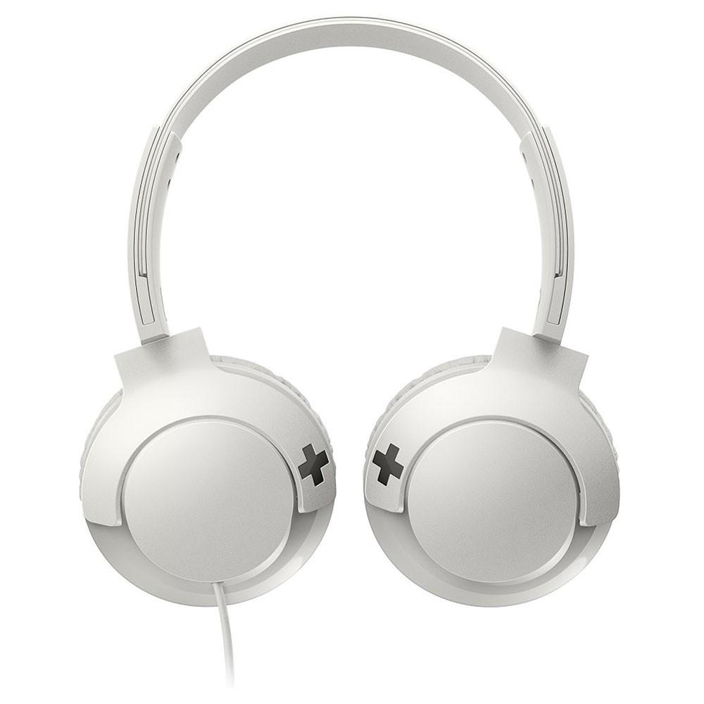 Fone de Ouvido Philips SHL3075WT/00 com Microfone Headphone - Branco