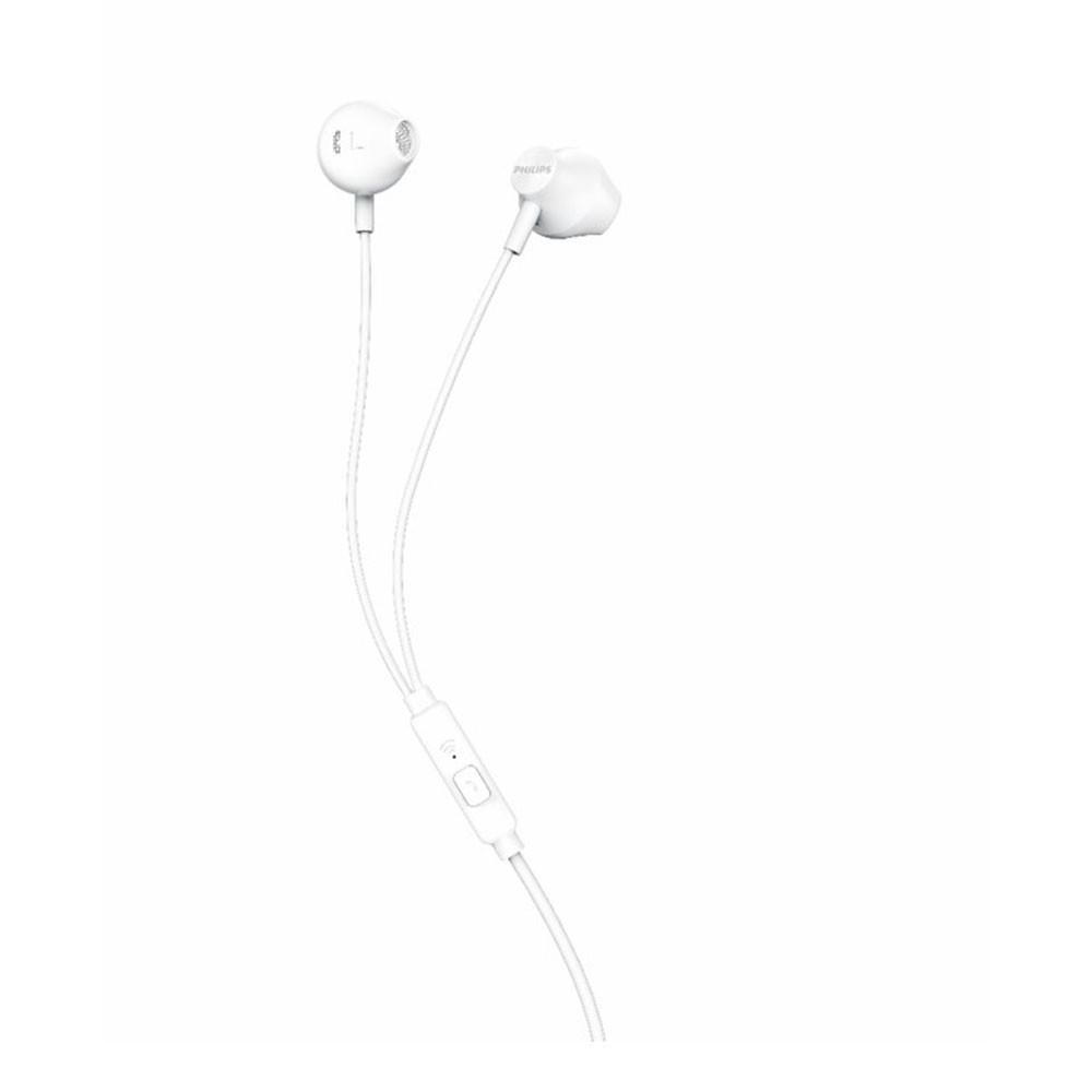 Fone de Ouvido Philips TAUE101WT/00 com Microfone - Branco