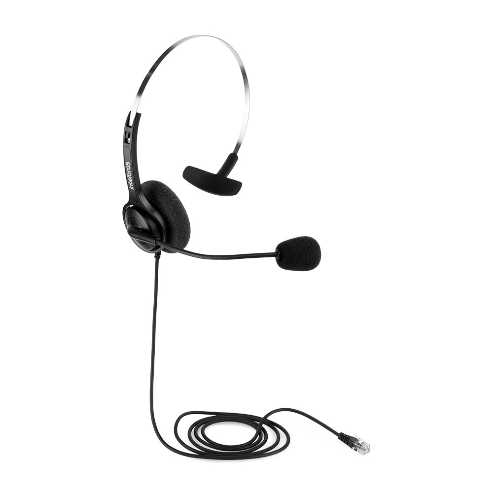 Fone Headset Intelbras CHS 40 RJ9 Telemarketing - Preto