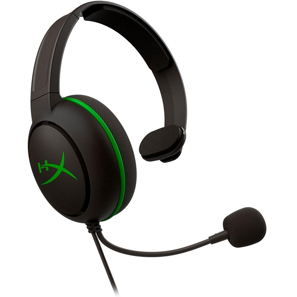 Headset HyperX Cloud Chat Xbox HX-HSCCHX-BK/WW Gamer - Preto