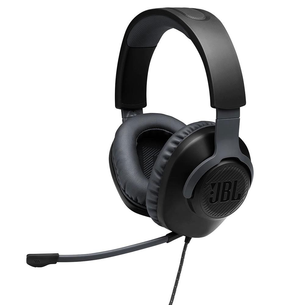 Headset JBL Gamer Quantum 100 Drivers 40mm - Preto