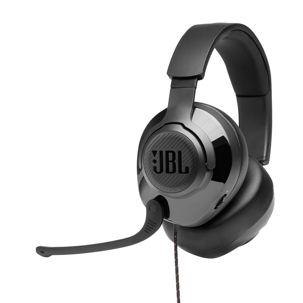 Headset JBL Gamer Quantum 300 Drivers 50mm - Preto
