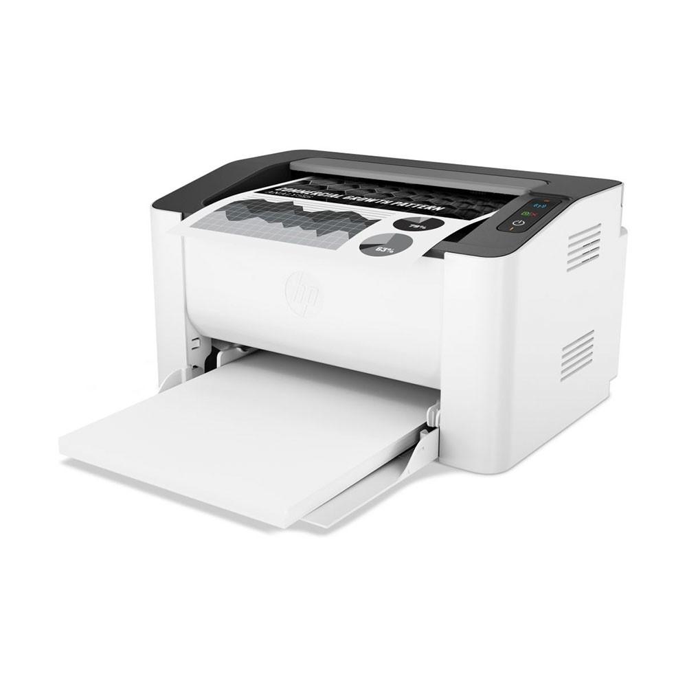 Impressora HP Laser 107W , Mono, 110V , Wi-Fi - Branca
