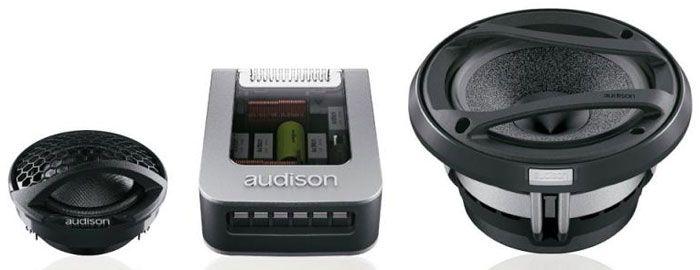 Kit 2 vias Audison AV K5 (5 pols. / 200W RMS)