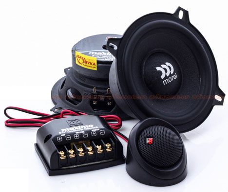 Kit 2 Vias Morel Maximo 2 Way 5 (5 pols. / 160W RMS)