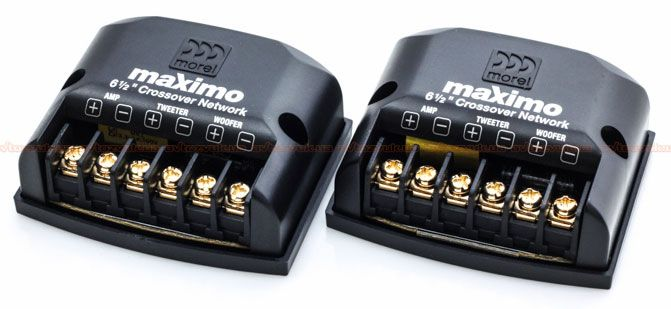 Kit 2 Vias Morel Maximo 2-Way 6 (6 pols. / 180W RMS)