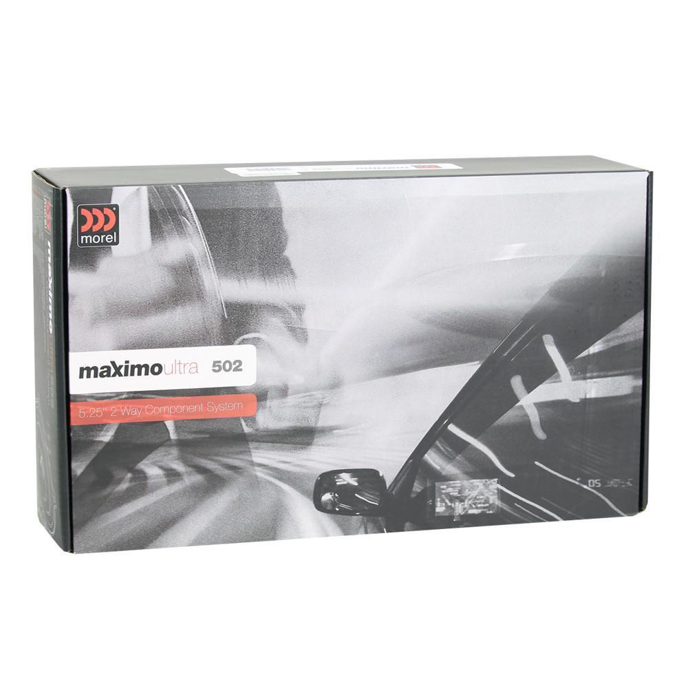 Kit 2 Vias Morel Maximo Ultra 502 (5 pols. / 160W RMS)