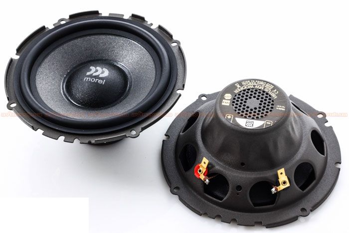 Kit 2 Vias Morel Virtus 602 (6 pols. / 280W RMS)