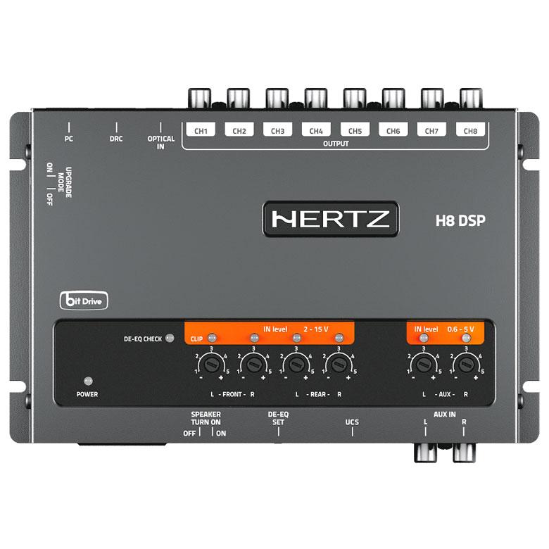 Processador de Áudio Hertz H8 DSP
