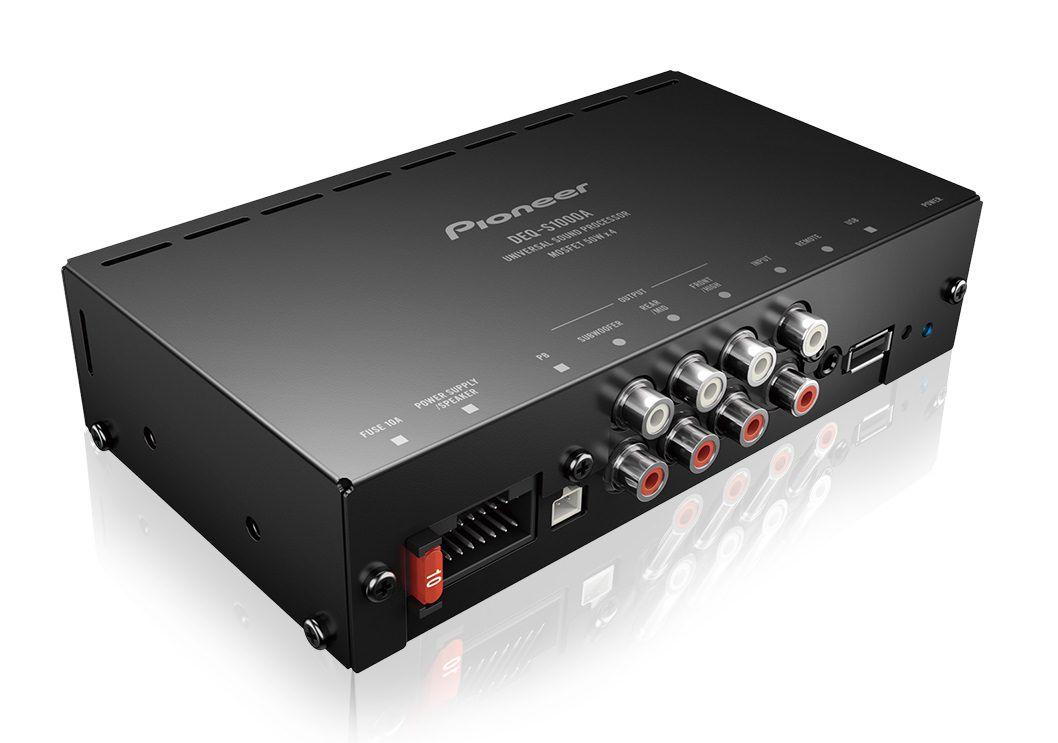 Processador de áudio Pioneer DEQ-S1000A - DSP Dual Core