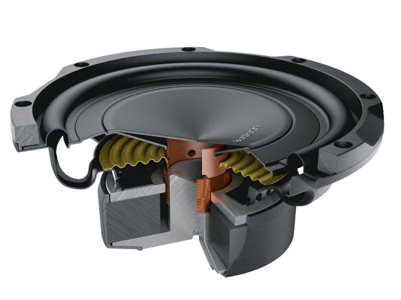 Subwoofer Audison APS8R (8 pols. / 250W RMS / Slim)