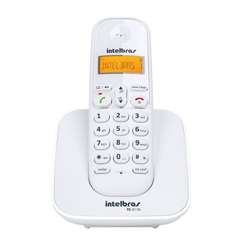 Telefone sem Fio Intelbras TS3110 - Branco
