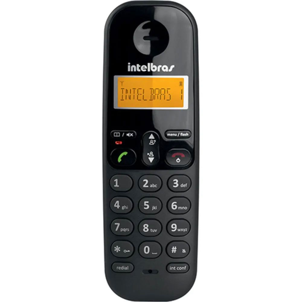 Telefone sem Fio Intelbras TS3110 - Preto