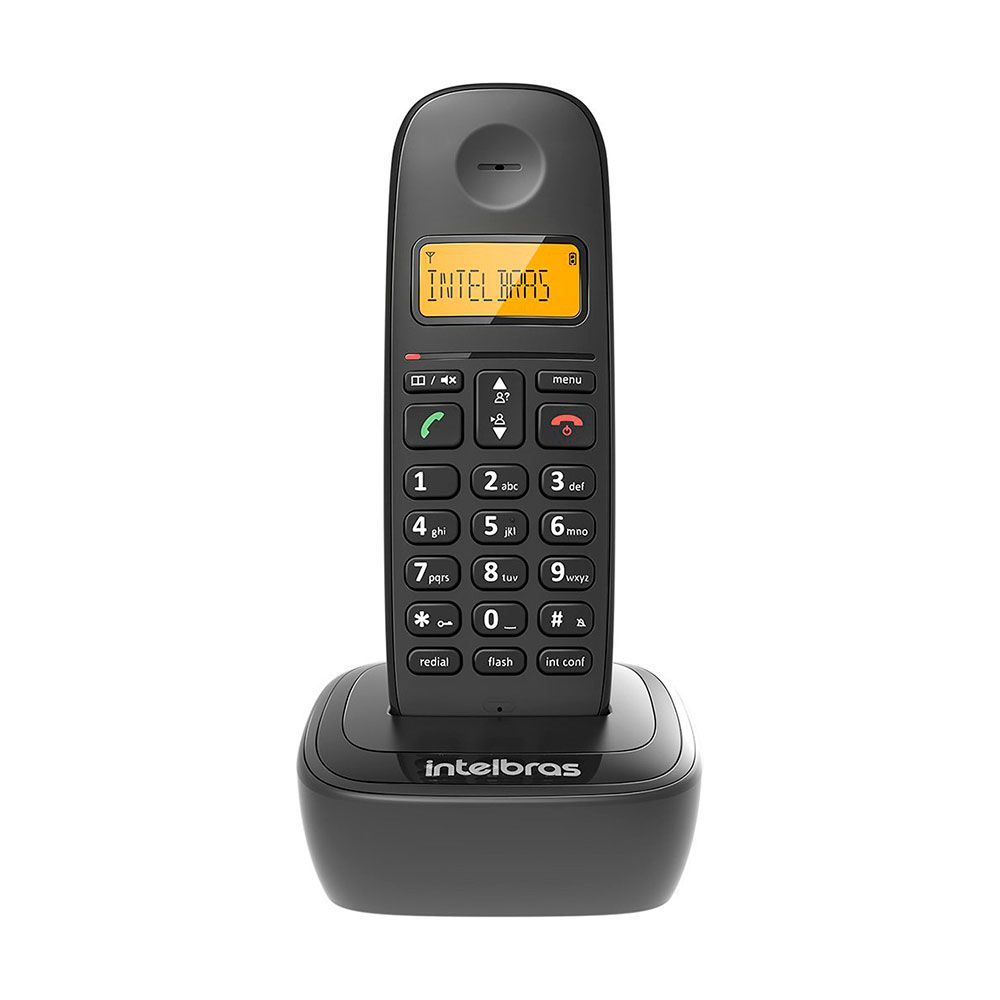 Telefone Sem Fio Intelbras TS 2510 ID - Preto