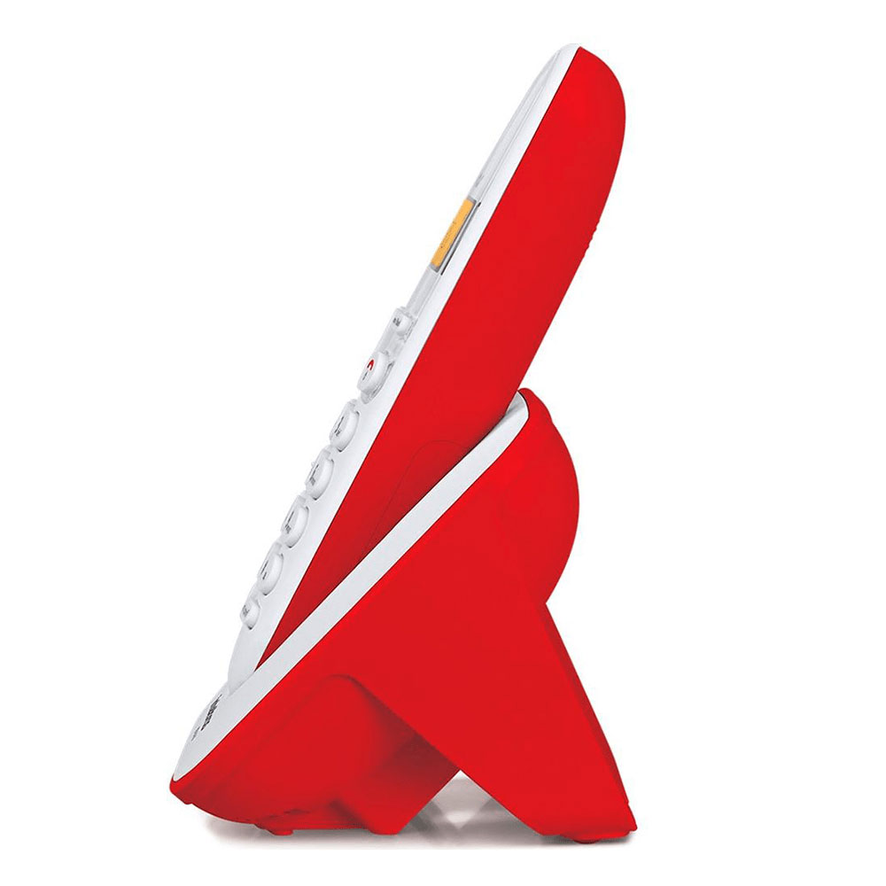 Telefone sem Fio Intelbras TS 3110 - Branco c/ Vermelho