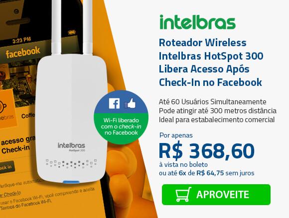 Hot Spot Intelbras