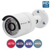 Câmera Bullet Infravermelho Flex 4 em 1 Tecvoz CCB-1028 HD 720p 1.0M - CVBS, AHD, HDCVI, HDTVI (V1), HDTVI (V2)