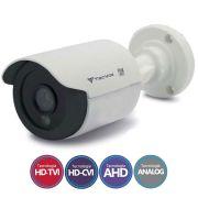 Câmera Bullet Infravermelho Flex 4 em 1 Tecvoz QCB-136P HD 720p 1.0M - CVBS, AHD, HDCVI, HDTVI