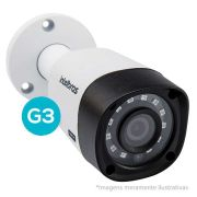 Câmera Bullet Infravermelho Multi HD 4 em 1 Intelbras VHD 3120B G3 HD 720p - HDCVI, HDTVI, AHD, ANALÓGICO