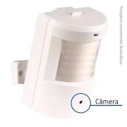 Câmera de Segurança Espiã Escondida Camuflada Tipo Sensor de Presença HD 720p - AHD