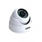 Câmera Dome Infravermelho AHD GS HD15CDB hd 720P 3,6mm Giga Security